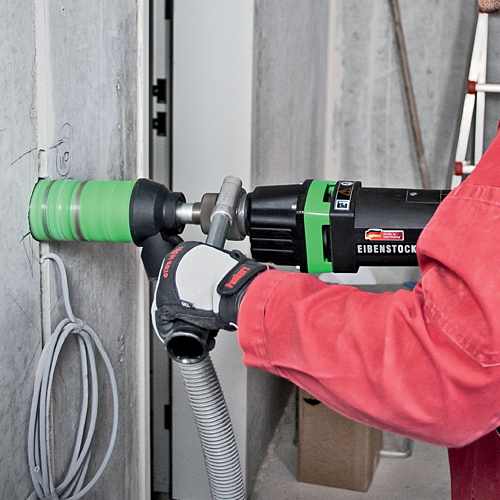Nguyên tắc an toàn khi sử dụng máy khoan rút lõi bê tông