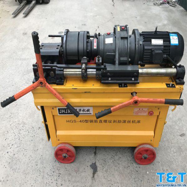 Máy lăn ren HGS 40 chính hãng được phân phối bởi công ty TNHH Máy xây dựng T&T