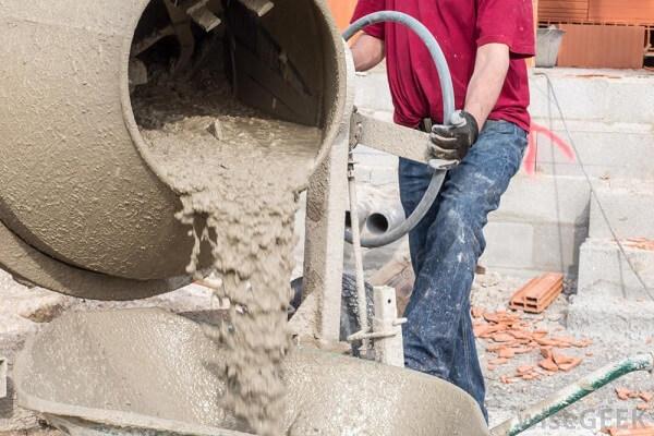 cách sử dụng máy trộn bê tông