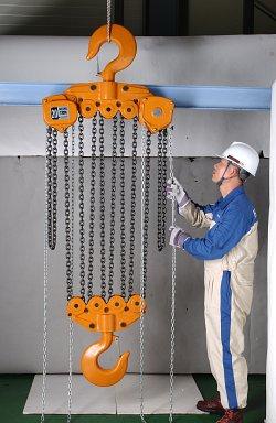 Pa lăng xích kéo tay là thiết bị xây dựng có nhiều ưu điểm nổi bật