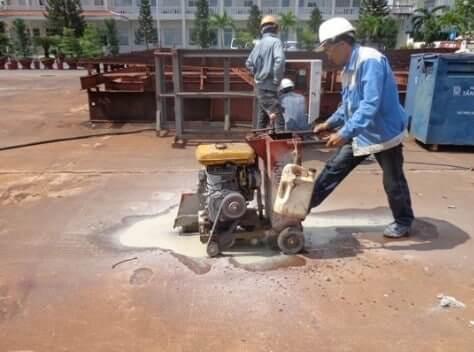 Đảm bảo an toàn lao động khi sử dụng máy cắt bê tông