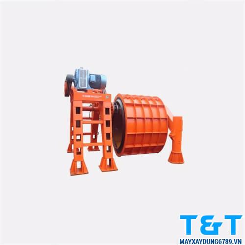 Dàn quay ống cống ly tâm giá rẻ được ứng dụng rộng rãi trong sản xuất kiện bê tông đúc sẵn