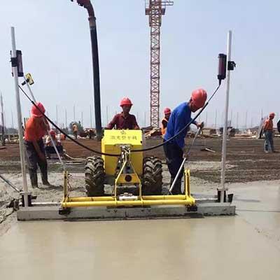 Giá máy cán nền bê tông laser Dynamic
