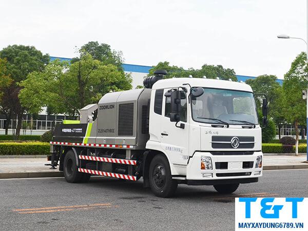 Giá xe bơm bê tông tự hành áp 18 MPA ZOOMLION CIFA