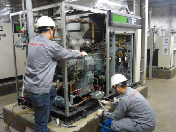 Hướng dẫn bảo trì bảo dưỡng máy nén khí