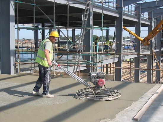 Hướng dẫn vận hành máy xoa nền bê tông