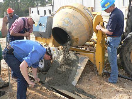 Khắc phục sự cố máy trộn bê tông