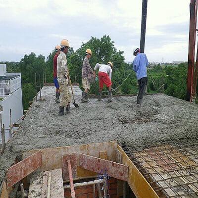 kỹ thuật đổ bê tông