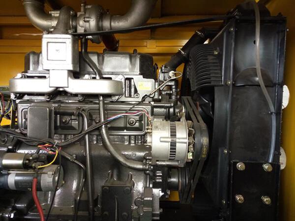 Máy bơm bê tông 20-30m3/h (YH-30D) có động cơ 45 kw