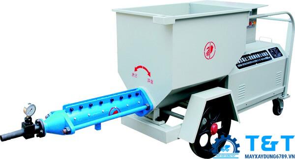 Máy bơm vữa trục vít áp lực cao JRD500