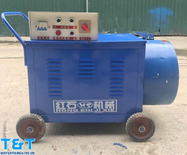 Máy bơm vữa HJB2 có thiết kế nhỏ gọn, thuận tiện cho việc di chuyển trong các công trình