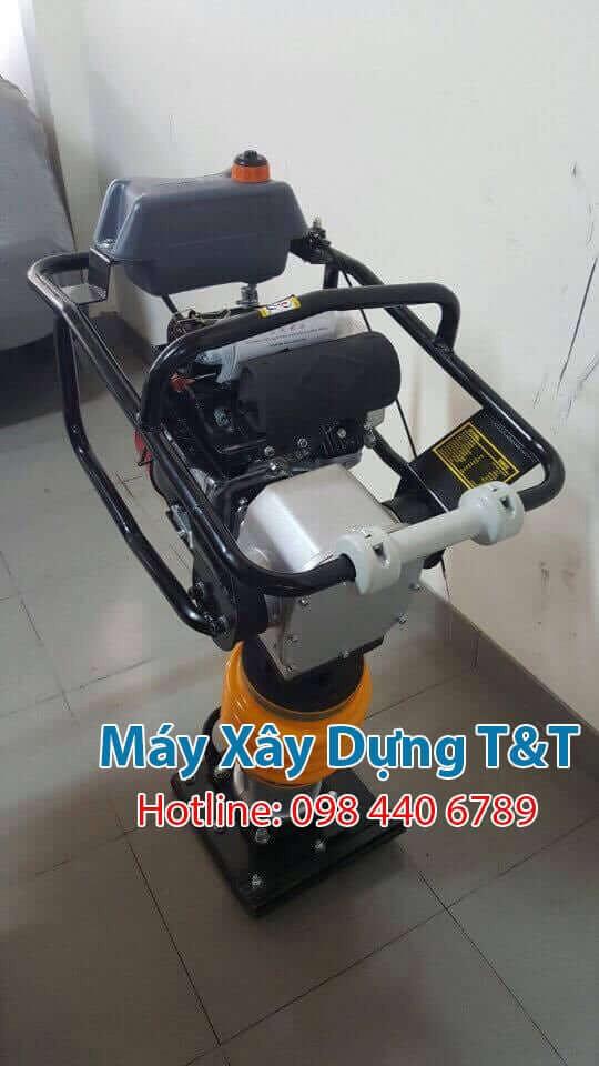 Máy đầm cóc RM80 động cơ xăng giá rẻ