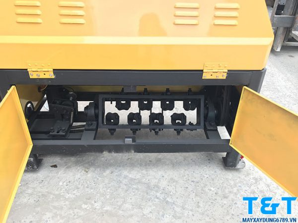 Bộ phận bánh dẫn duỗi thẳng sắt của máy cắt duỗi sắt GT40-10 (1 pha)