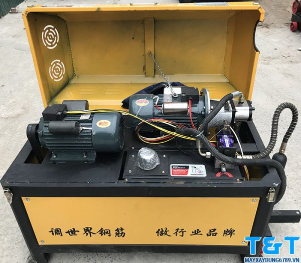 Hình ảnh của máy cắt duỗi sắt GT40-10 (1 pha)