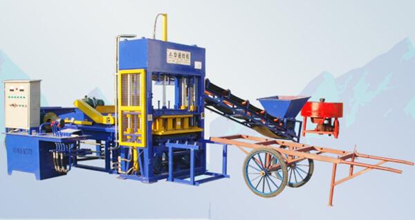 Máy ép gạch QT4-15
