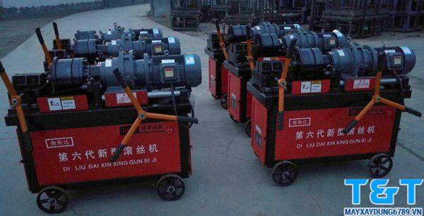 Máy lăn ren HGS40-B có quy trình vận hành đơn giản, dễ sử dụng và bảo trì