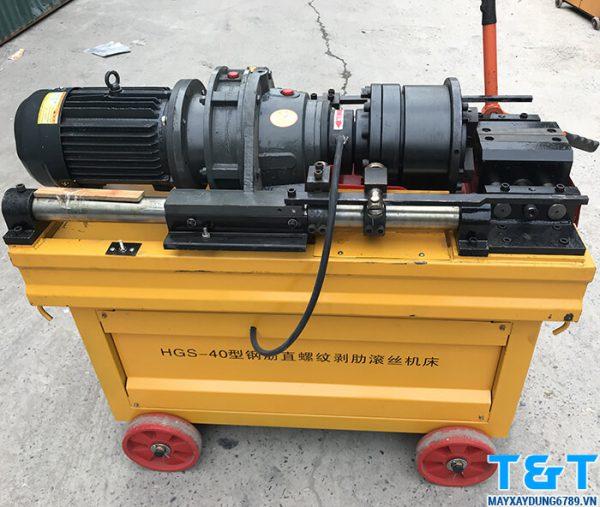 Máy tiện ren HGS 40 có tốc độ là 60 vòng/ phút