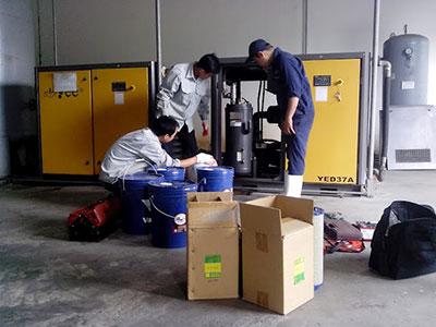 Thường xuyên kiểm tra bảo dưỡng máy để đảm bảo thiết bị hoạt động bình thường