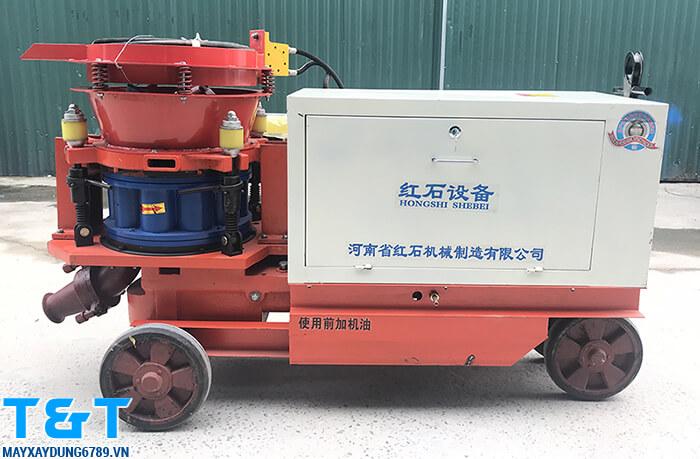 Máy phun vẩy bê tông HSP7 là thiết bị máy xây dựng chính hãng, có tính ứng dụng cao thi công nhiều dạng công trình