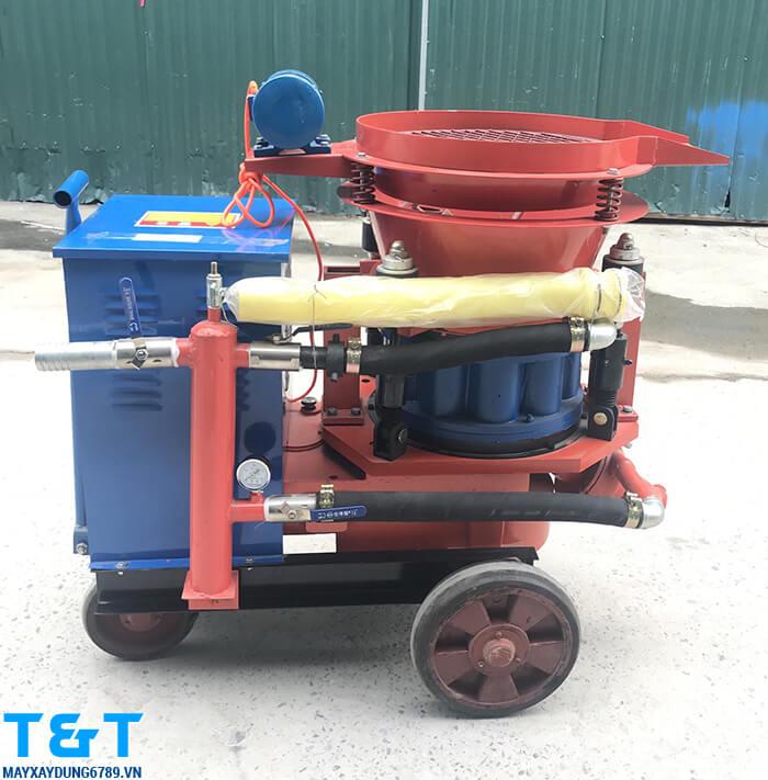 Máy phun vẩy bê tông PZ5 là thiết bị máy xây dựng được nhập khẩu từ Trung Quốc và sở hữu nhiều tính năng ưu việt