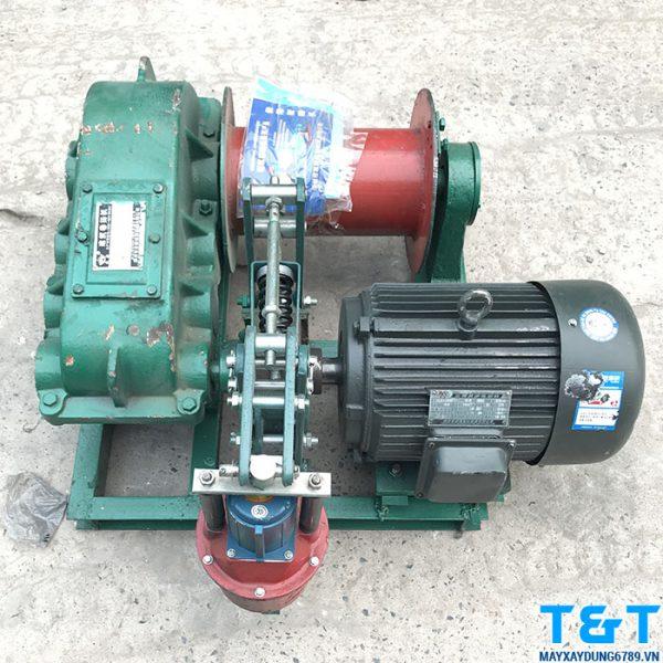 Tời kéo cáp JK1.6 có động cơ 7.5 Kw với model Y160L – 6