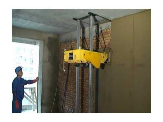Tìm hiểu cấu tạo máy trát tường