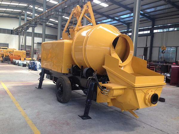 Máy bơm bê tông liện hợp công suất 35-45m3 có chất lượng cao