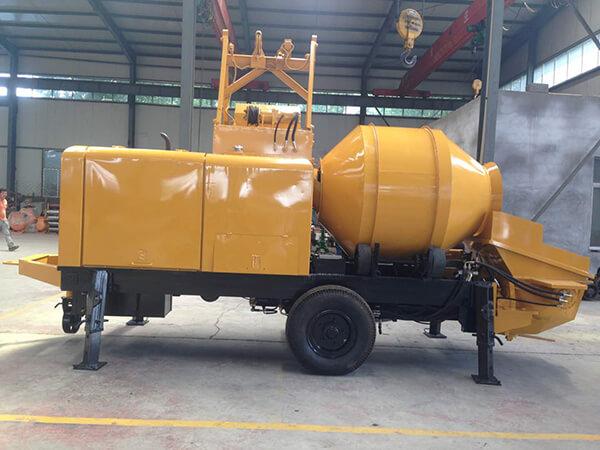 Máy trộn bơm bê tông liên hợp công suất cao-YH50