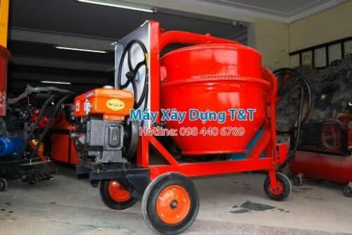 Máy trộn bê tông 350L động cơ Diesel