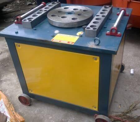 Kết cấu máy uốn sắt