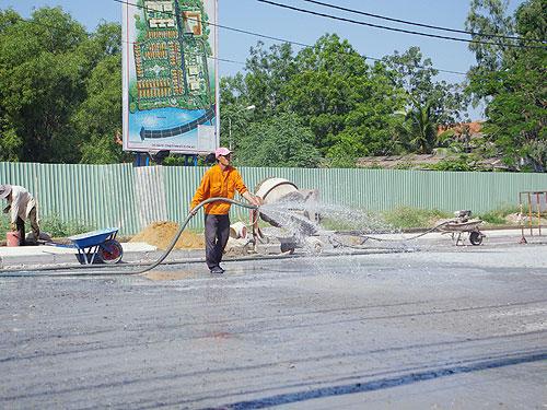 tiêu chuẩn nước trộn bê tông