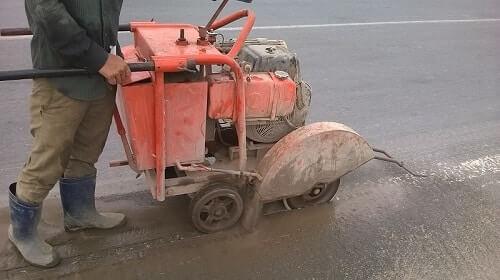 Quy tắc an toàn khi sử dụng máy cắt bê tông