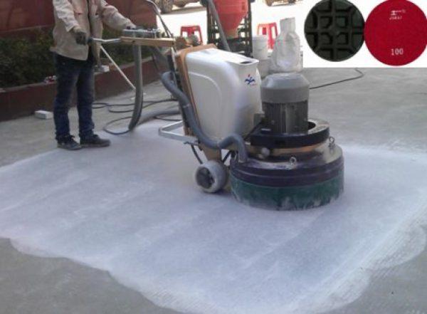 Quy trình sử dụng máy mài sàn bê tông