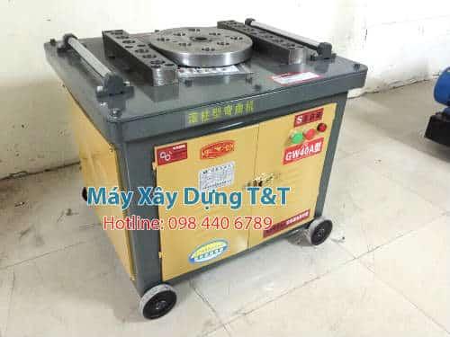 Sản phẩm máy uốn sắt GW40 A đang được phân phối tại Công ty TNHH Máy xây dựng T&T