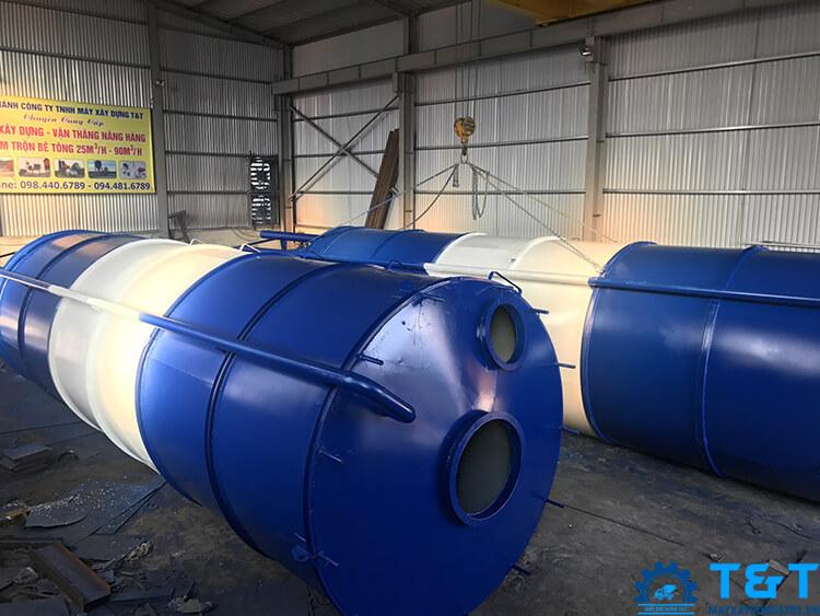 báo giá silo xi măng 100 tấn, 120 tấn, 150 tấn, 200 tấn
