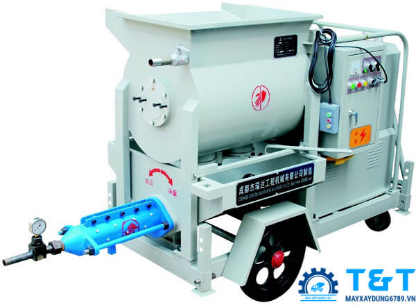 Máy bơm vữa trục vít áp lực cao JRD500B