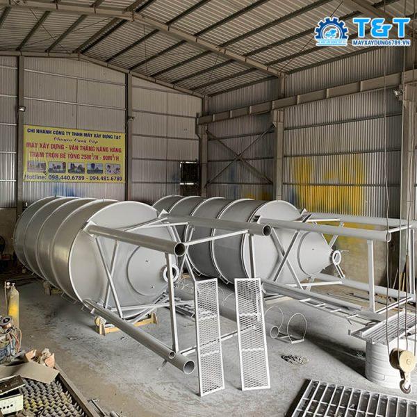 Silo xi măng 40 tấn